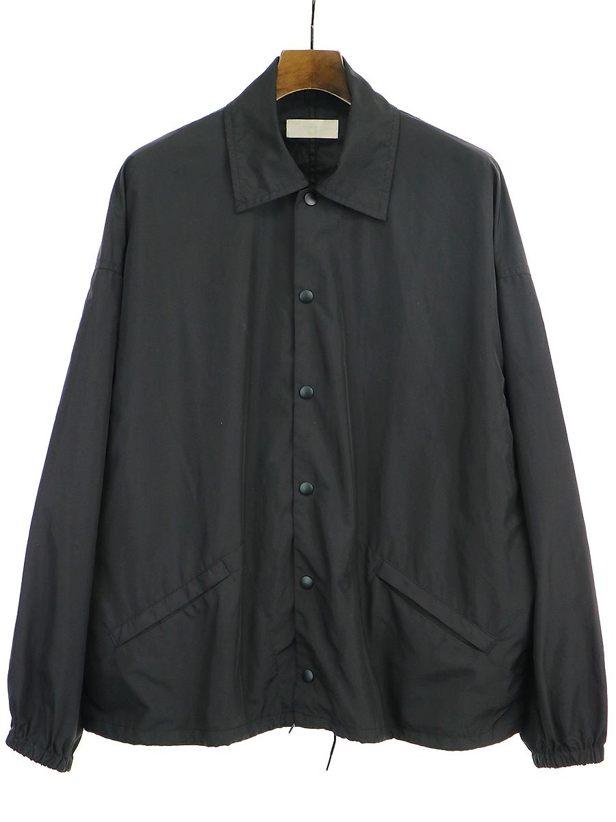 【中古】NEON SIGN ネオンサイン INDUSTRIAL COACH JACKET コーチジャケット ブラック 3 メンズ
