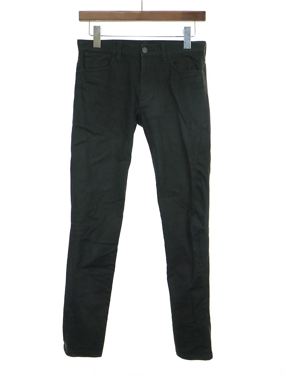 【中古】LAD MUSICIAN ラッドミュージシャン 18SS SKINNY PANTS コンパクトチノストレッチスキニーパンツ ブラック 42 メンズ