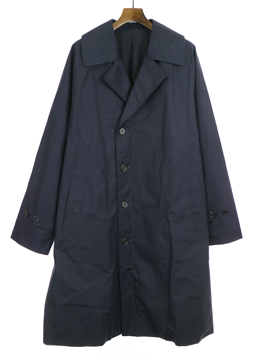 【中古】markaware マーカウェア 19AW RAINMAN COAT レインマンコート ネイビー 3 メンズ
