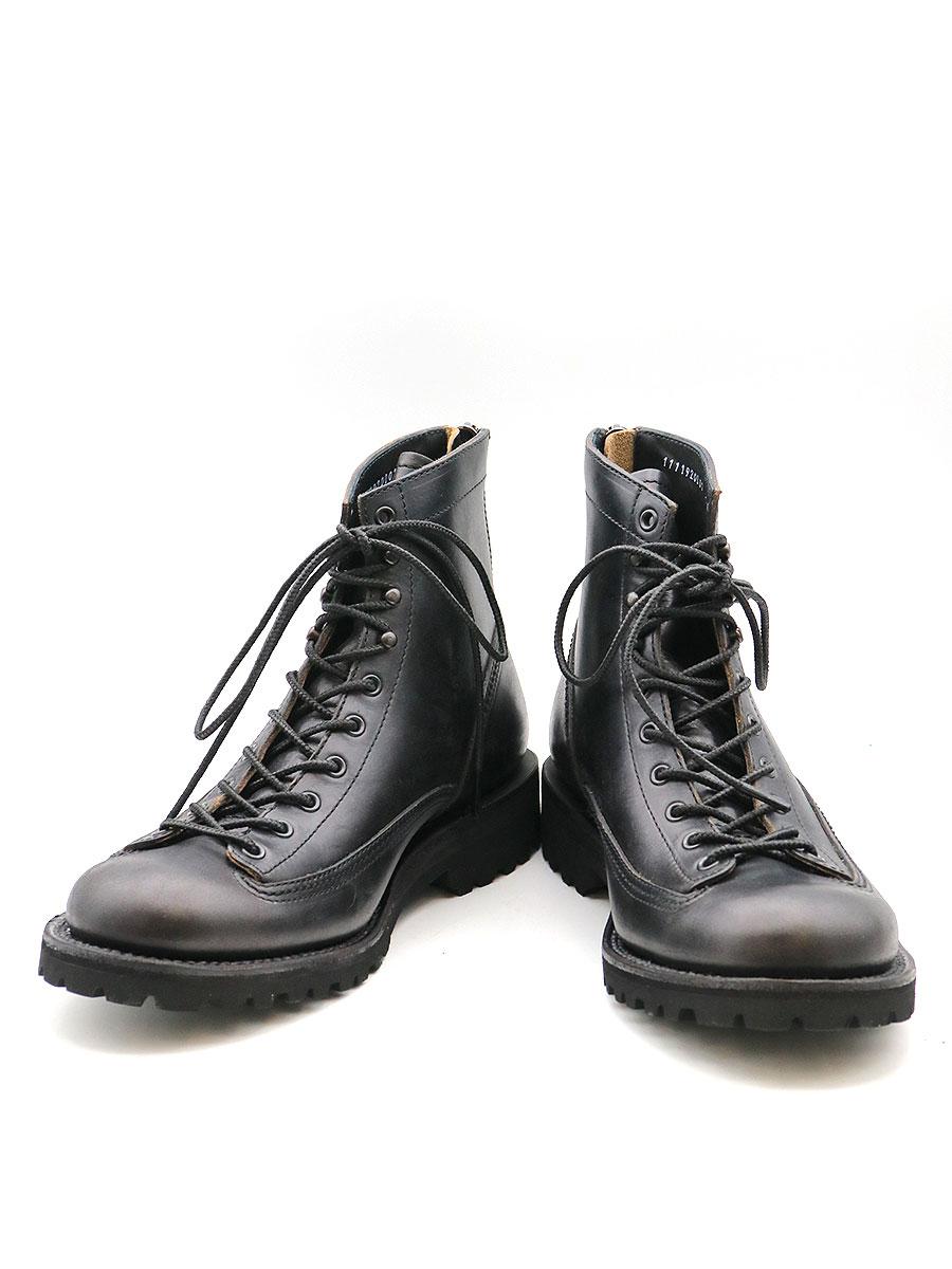【中古】junhashimoto ジュンハシモト 19AW BACK ZIP BOOTS バックジップブーツ ブラック 40(25cm程度) メンズ