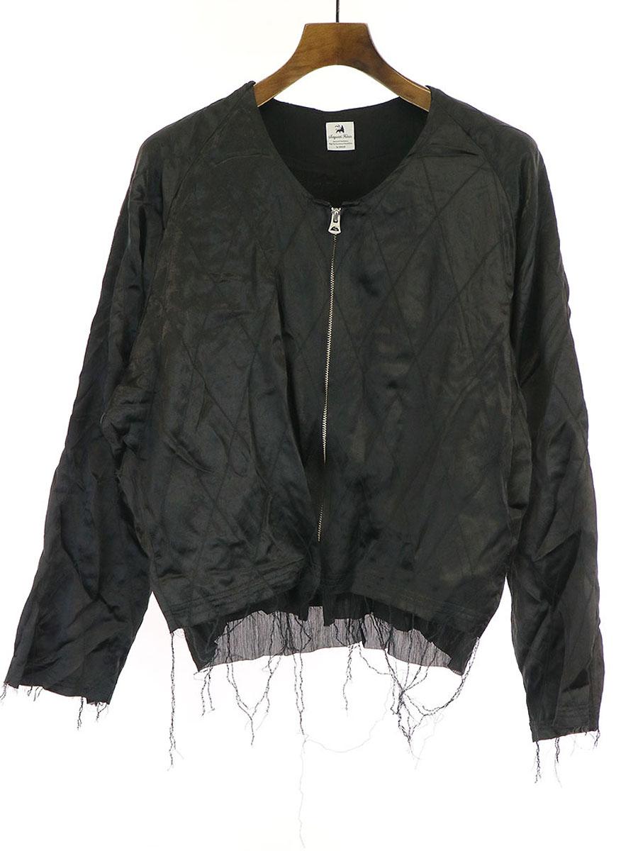 【中古】Sasquatchfabrix. サスクワッチファブリックス MAREBITO SOUVENIR JKT スカジャン ジャケット ブラック M メンズ