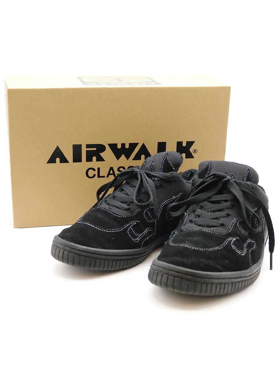 【中古】AIRWALK CLASSICS エアウォーククラシック ×YSTRDY'S TMRRW イェスタデイズトゥモロー SCOACH スニーカー ブラック 27cm メンズ