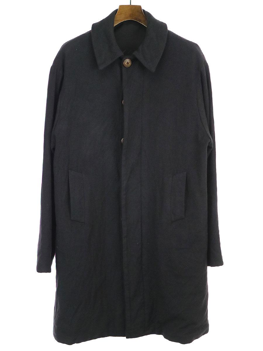 【中古】GEOFFREY B.SMALL ジェフリービースモール GRC09 1940's French fisheman's coat フレンチフィッシャーマンコート ブラック F メンズ