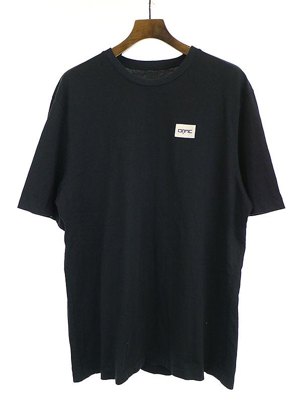 【中古】OAMC オーエーエムシー BIOTOP FUKUOKA EXCLUSIVE オーバーサイズTシャツ ブラック XL メンズ