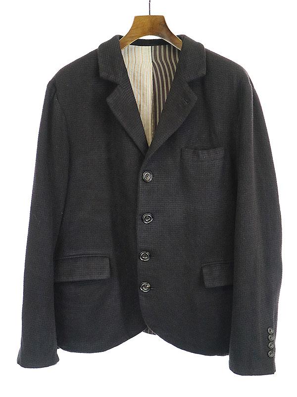 【中古】GEOFFREY B.SMALL ジェフリービースモール 16AW HBJ06 ベーシック4Bジャケット カシミア ブラック S メンズ