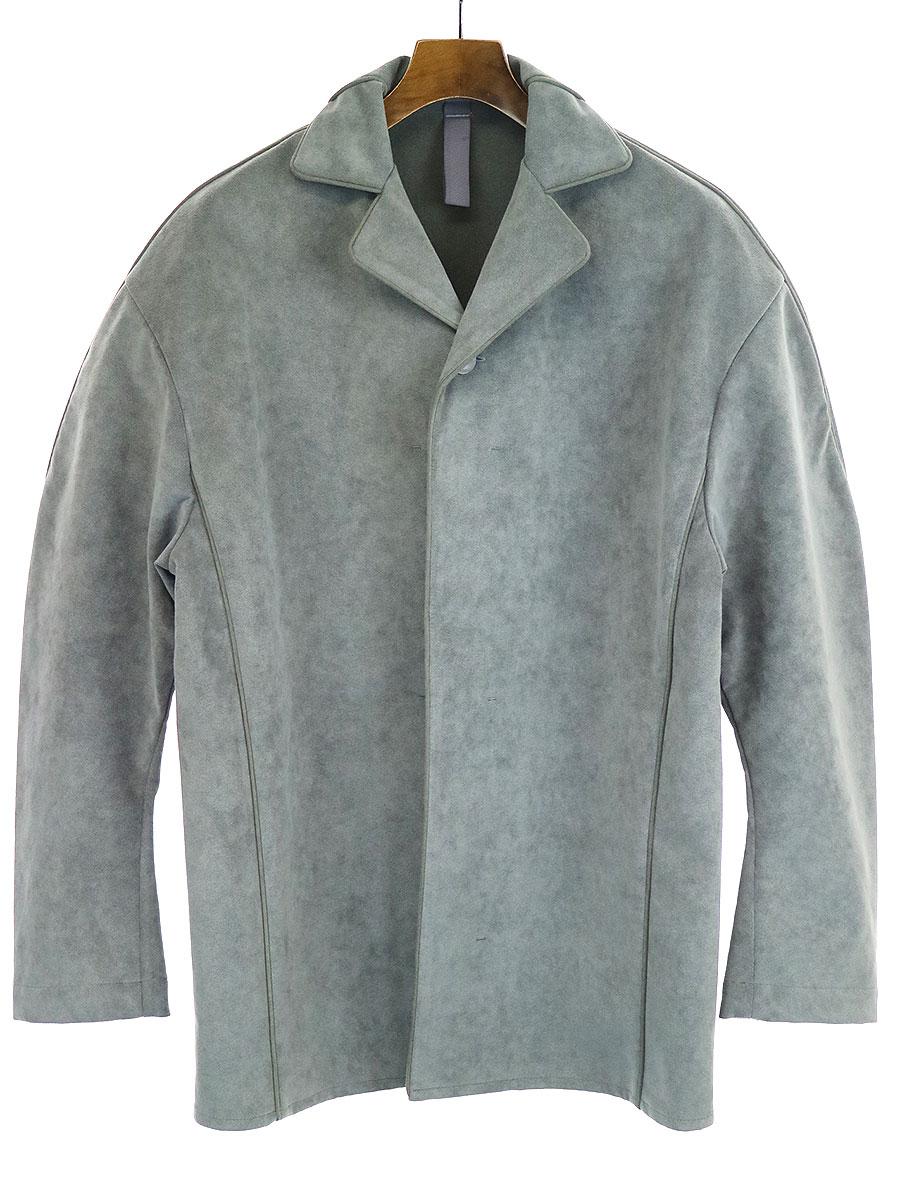 【中古】SHINYA KOZUKA シンヤコズカ Sleeping shirt for john パジャマジャケット グレー M メンズ