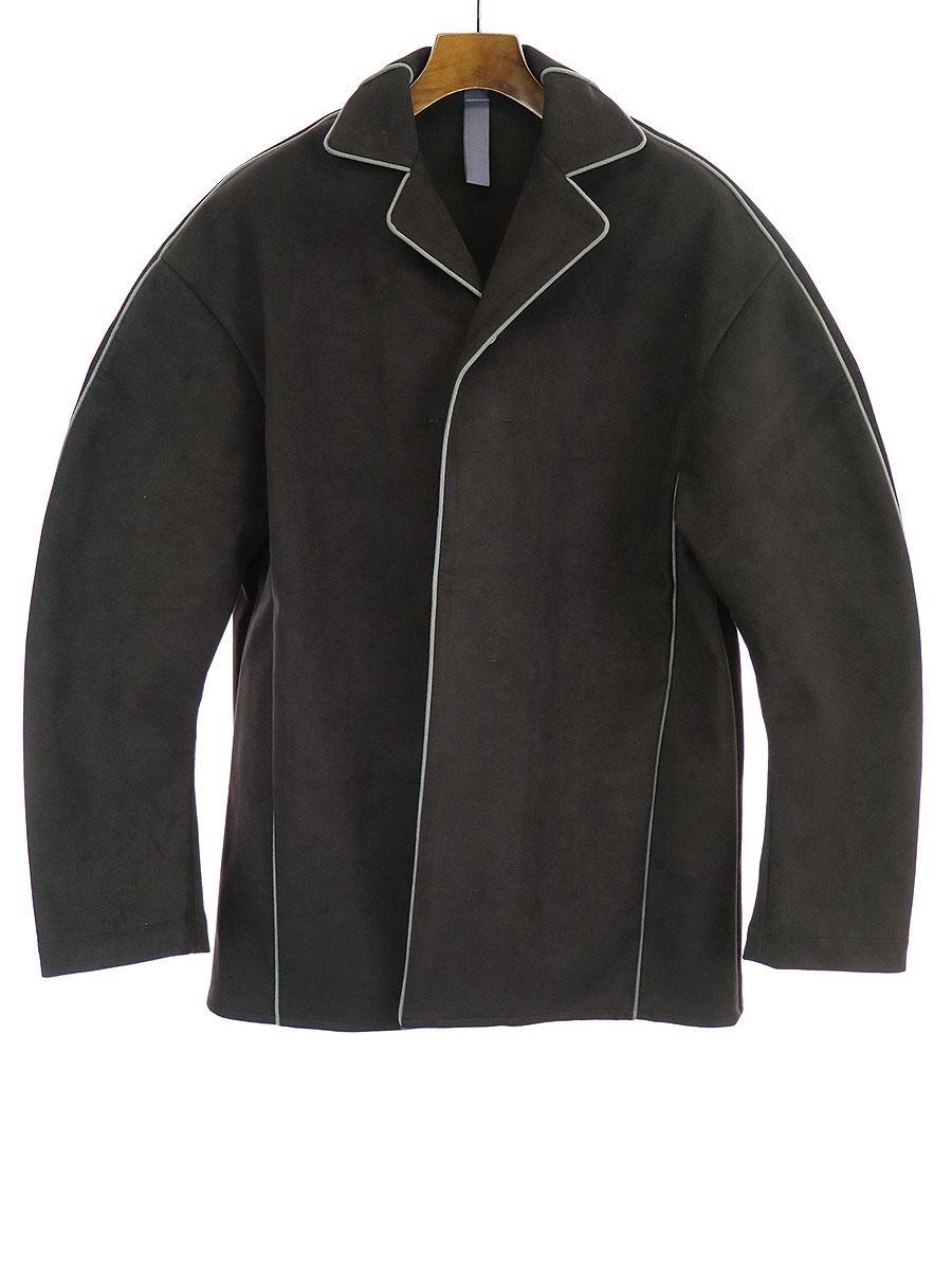 【中古】SHINYA KOZUKA シンヤコズカ Sleeping shirt for john パジャマジャケット ブラック M メンズ