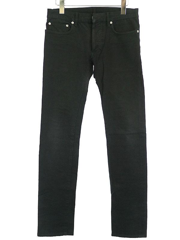 【中古】Dior HOMME ディオールオム 06AW スーパースレンダーストレッチパンツ ブラック 28 メンズ