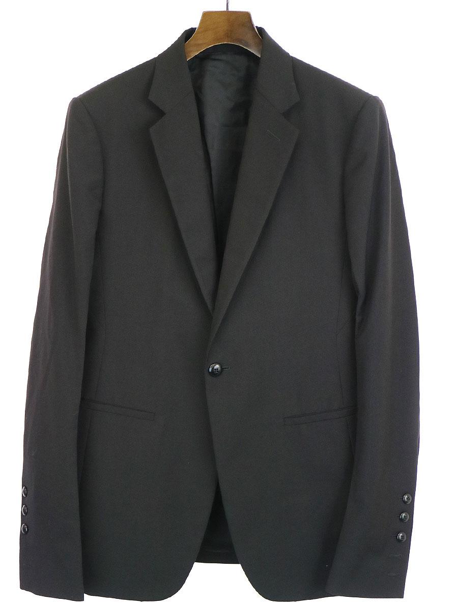 【中古】Rick Owens リックオウエンス 15AW ウールブレザーテーラードジャケット ブラック 50 メンズ