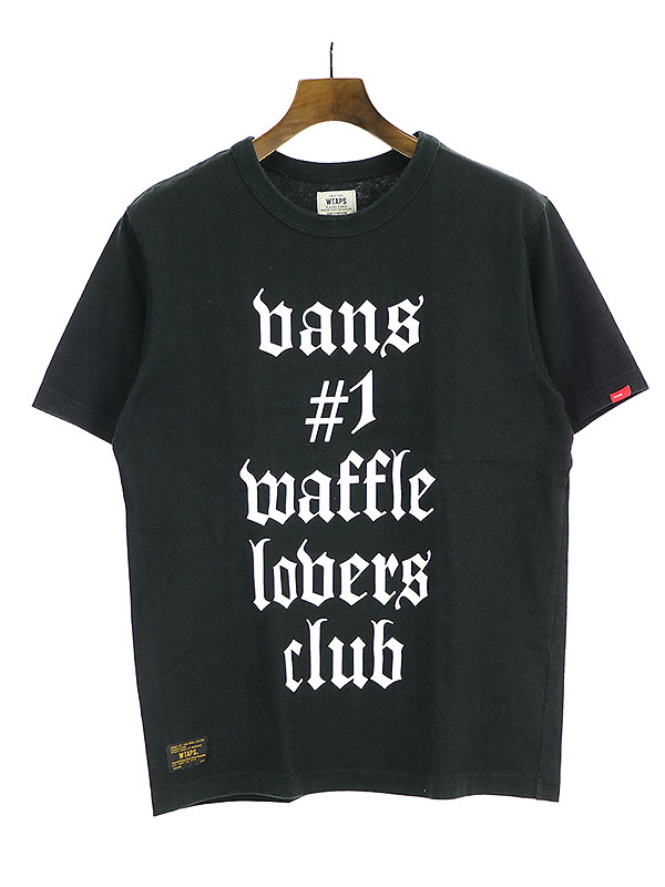【中古】WTAPS ダブルタップス 16SS DESIGN S/S 05 Tシャツ ブラック M メンズ
