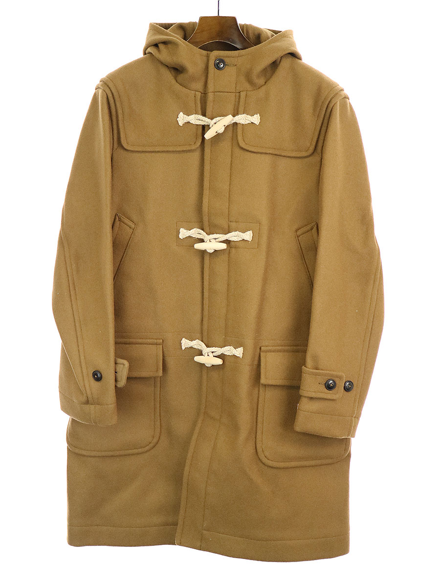 【中古】BEDWIN ベドウィン 17AW MELTON DUFFLE COAT