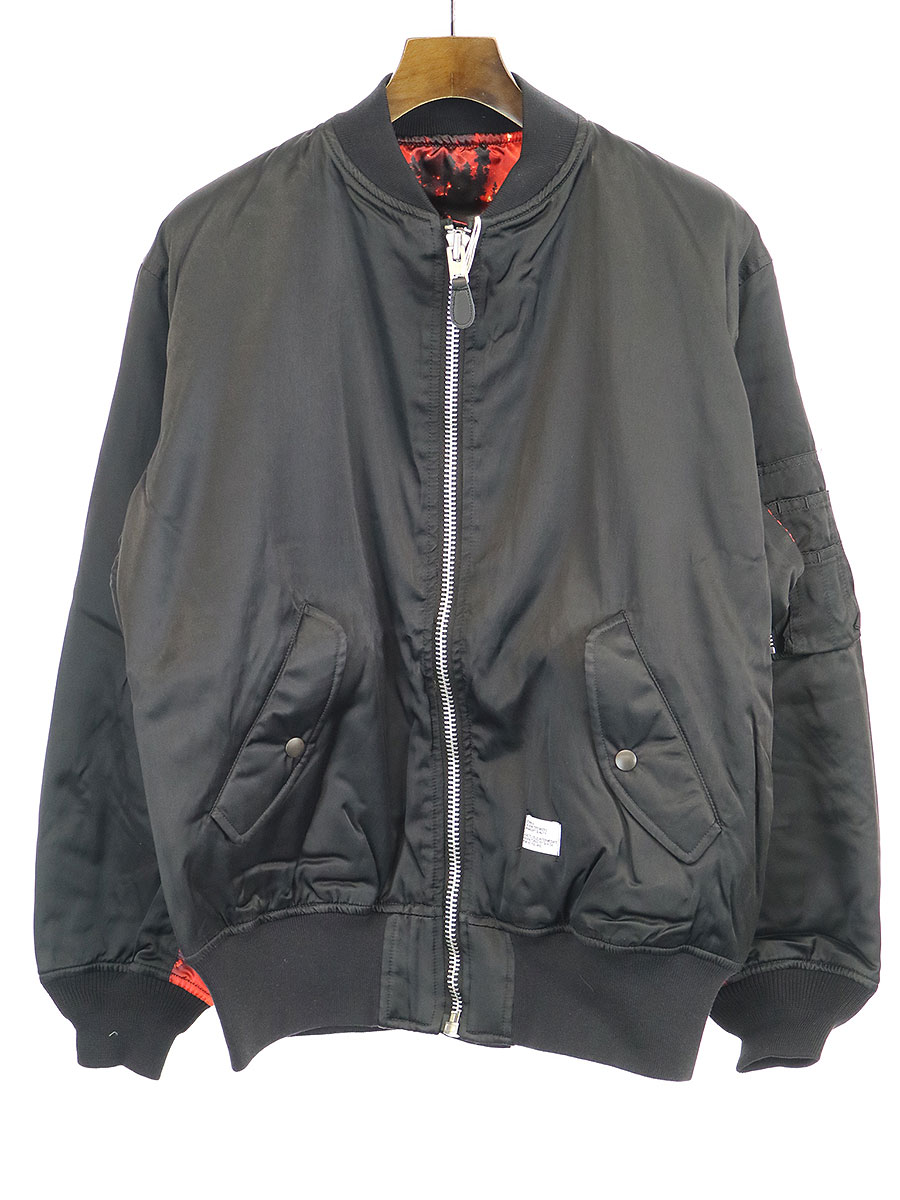【中古】BEDWIN ベドウィン 19SS MILITARY TYPE MA-1 JACKET