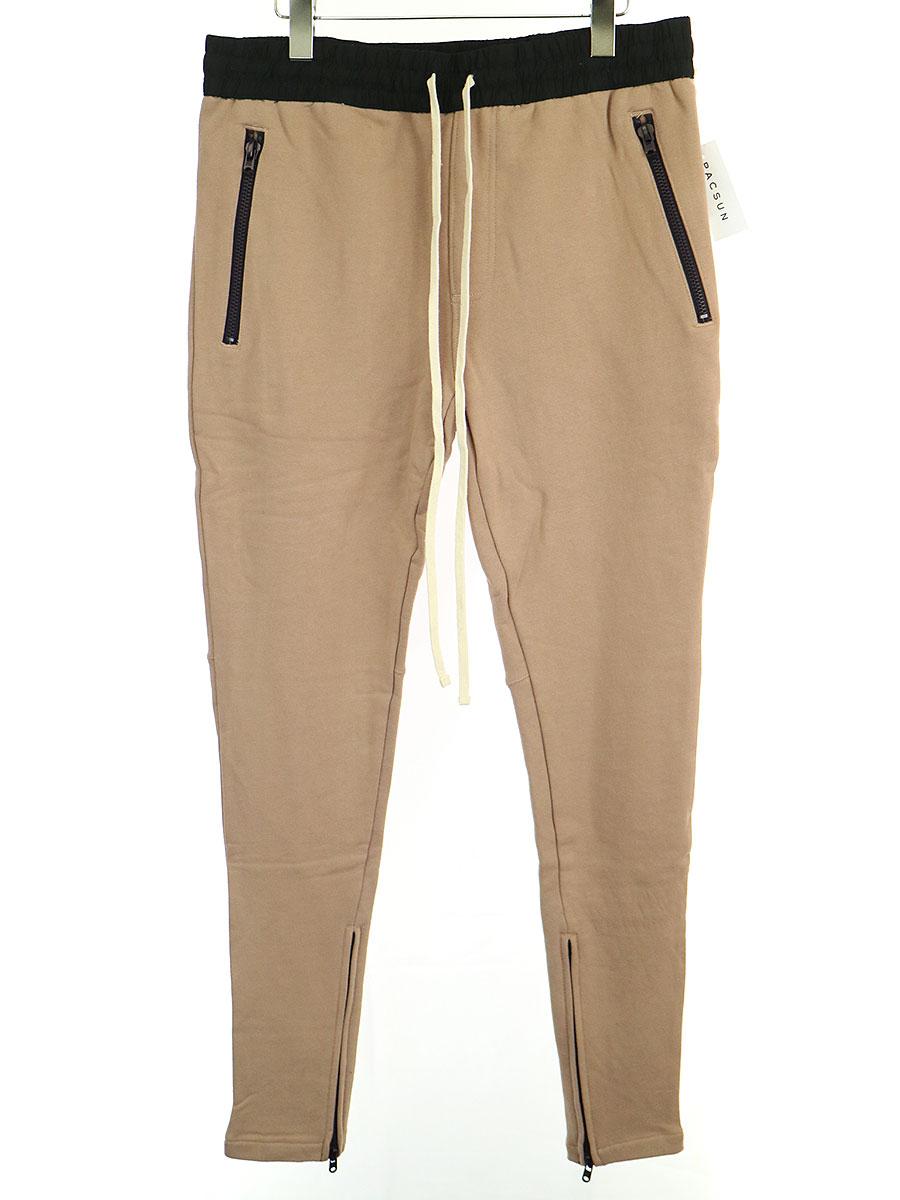 【中古】FOG by FEAR OF GOD フォグバイフィアーオブゴッド ESSENTIALS Drawstring Pants スウェットパンツ ブラウン M メンズ