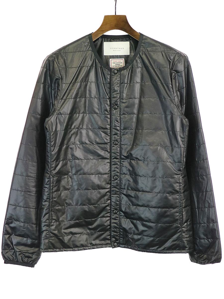 最も完璧な 【】ACANTHUS アカンサス 15AW Quilting Inner Jacket インナーダウンジャケット ブラック M メンズ, 美浦村 dad1c865