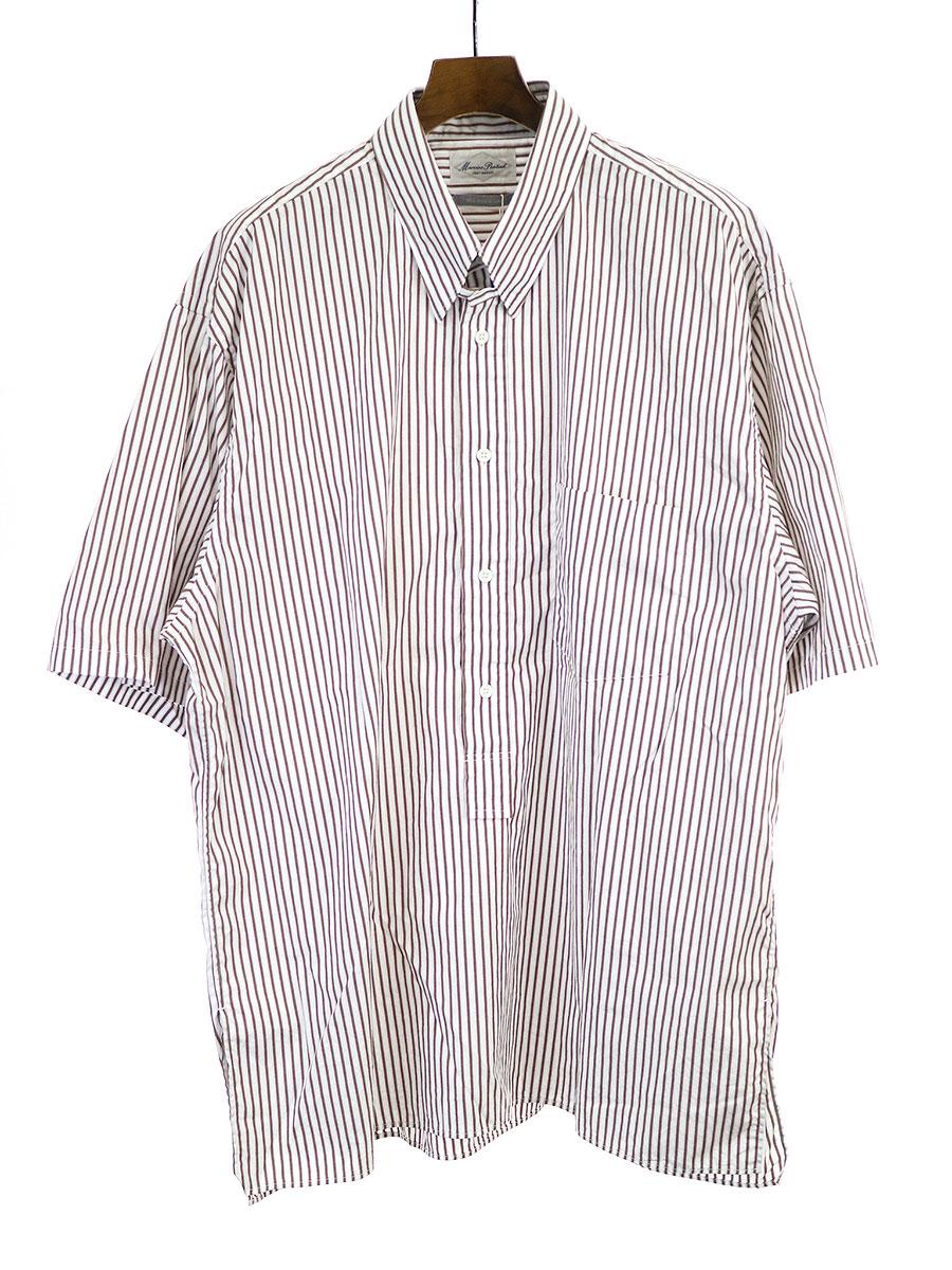 最新のデザイン 【 Pontiak】Marvine Pontiak ブラウン マービンポンティアック 19SS Tab Color Shirt 19SS タブカラープルオーバーシャツ ブラウン F メンズ, Prtit Fleur Marche:680aea86 --- delipanzapatoca.com