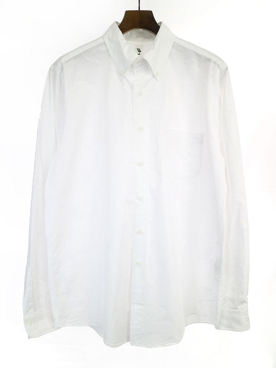 値段が激安 【】LE エルイー 19SS ボタンダウンワイドシャツ ホワイト 2 メンズ, 伊勢美稲豚の大里食肉センター b5d9053e
