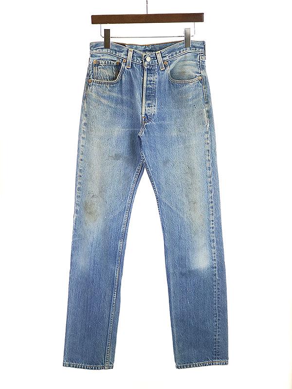 中古 Levi's リーバイス 90's 501 インディゴ メンズ 32 ストレートデニムパンツ ショップ 激安通販販売
