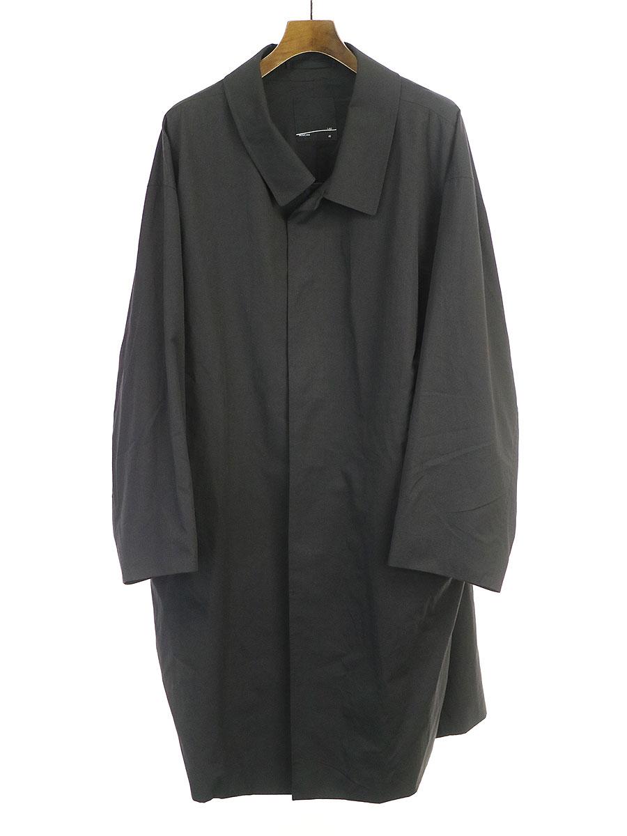 大割引 【】LAD MUSICIAN ラッドミュージシャン 18SS BIG SOUTIEN COLLAR COAT コート ブラック 42 メンズ, メジャーアメフト即納店SELECTION 90c5bc51