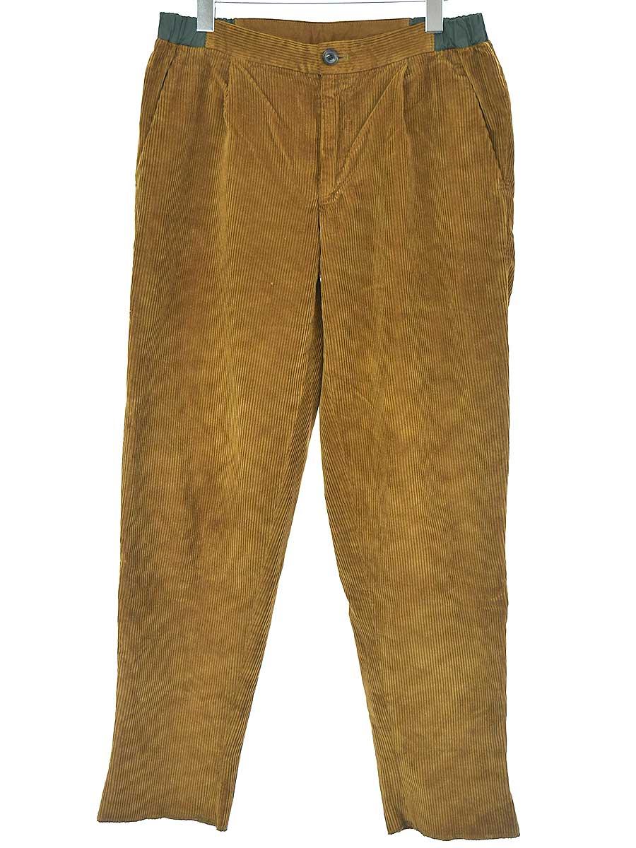 中古 kolor カラー 受注生産品 16AW ブラウン コーデュロイパンツ 男女兼用 2 メンズ