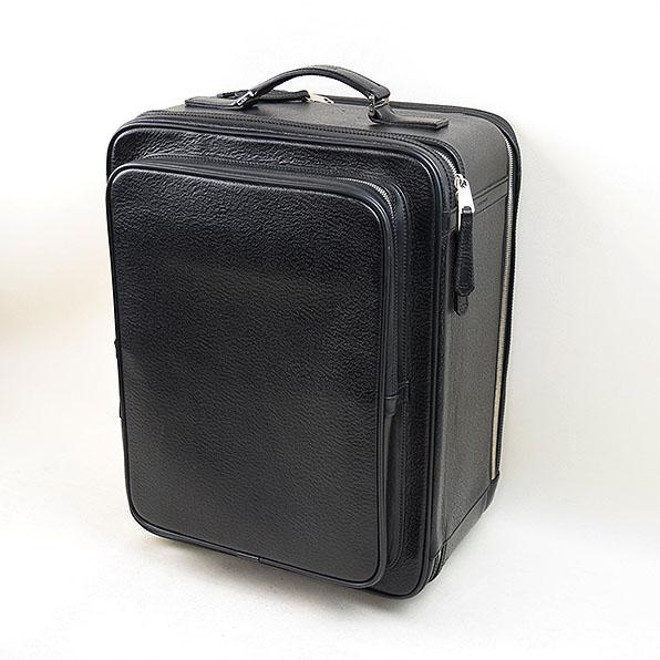 Dior HOMME ディオールオム キャリーバッグ スーツケース ブラック 【中古】