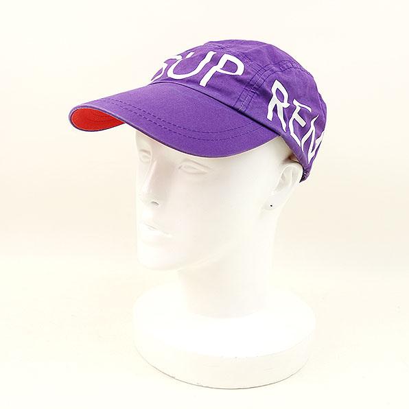 【中古】Supreme シュプリーム Purple Sport Cap 2008 パープル