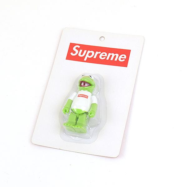 【中古】Supreme シュプリーム 08SS Kermit Kubrick Figure カーミットキューブリックフィギュア グリーン
