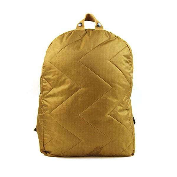 【中古】REALITY STUDIO リアリティスタジオ Ali backpack キルティングナイロンバックパック ブラウン