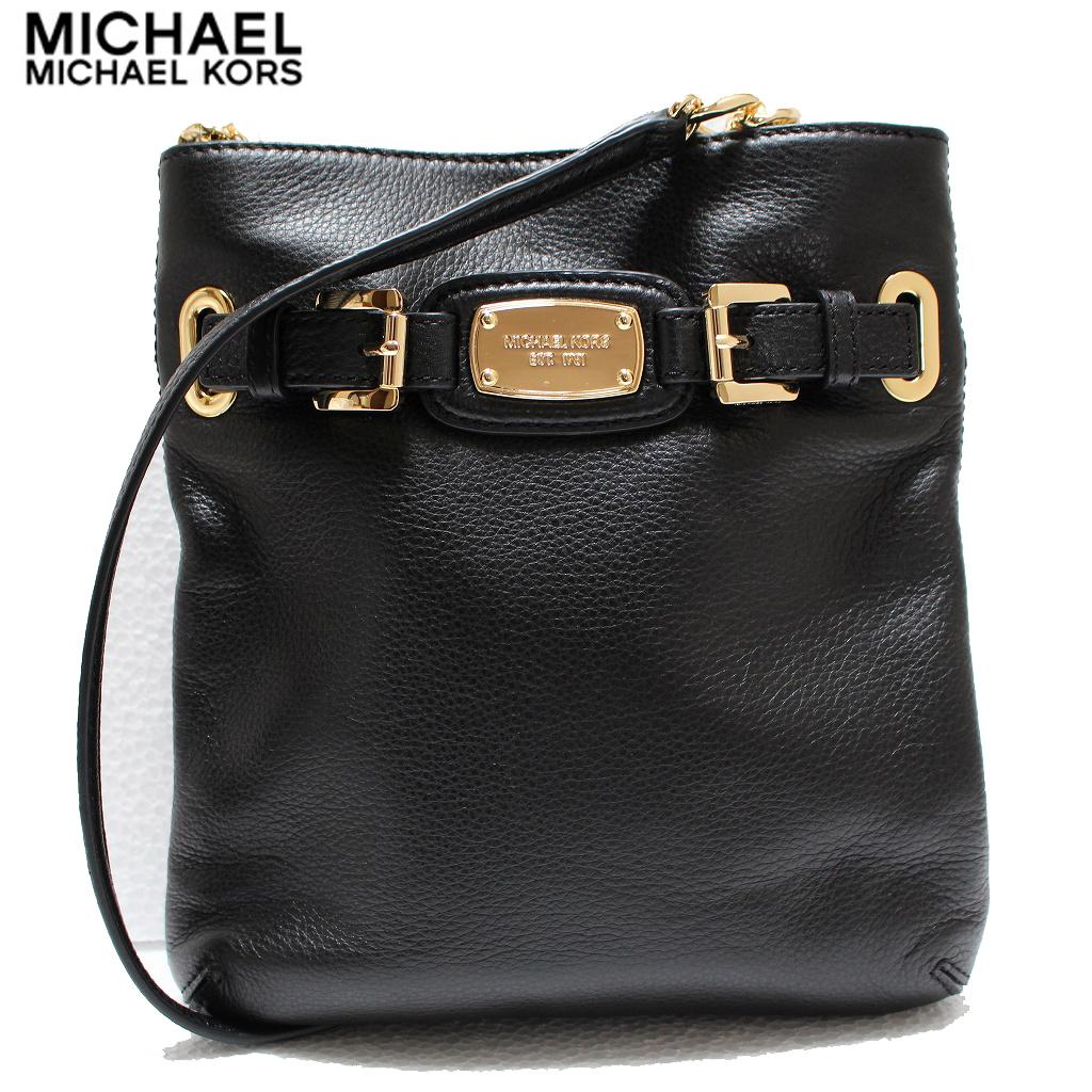 Michael Kors shoulder bag cross body bag black MICHAEL KORS hamilton lg crossbody 35f2ghmc3l