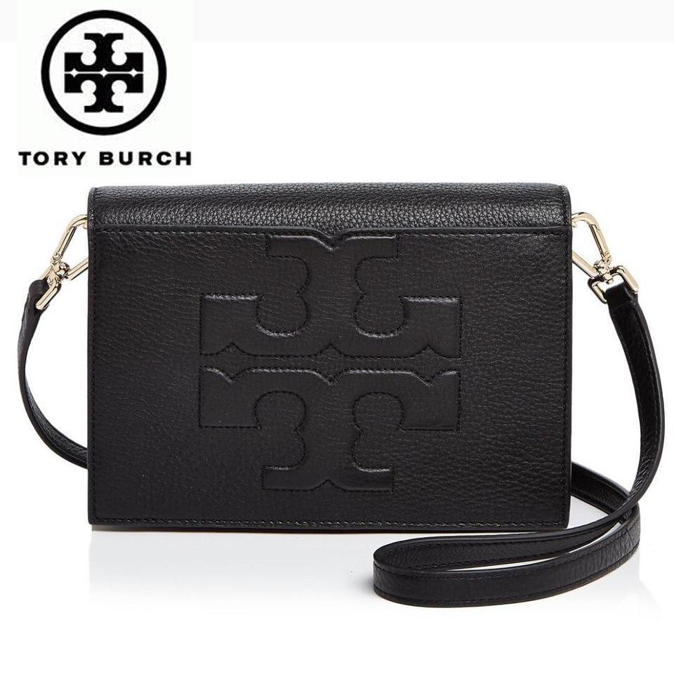 631db340094e トリーバーチ バッグ ショルダーバッグ Tory Burch Bombe T Combo Cross Body Clutch Bag