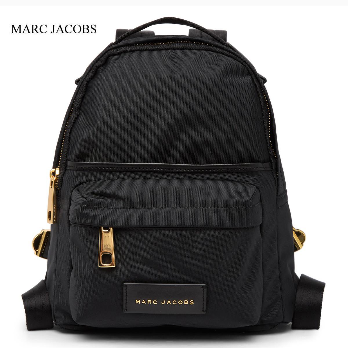 マークジェイコブス バッグ リュック ナイロン スモール バックパック ブラック Marc Jacobs Nylon Varsity Small Backpack BLACK