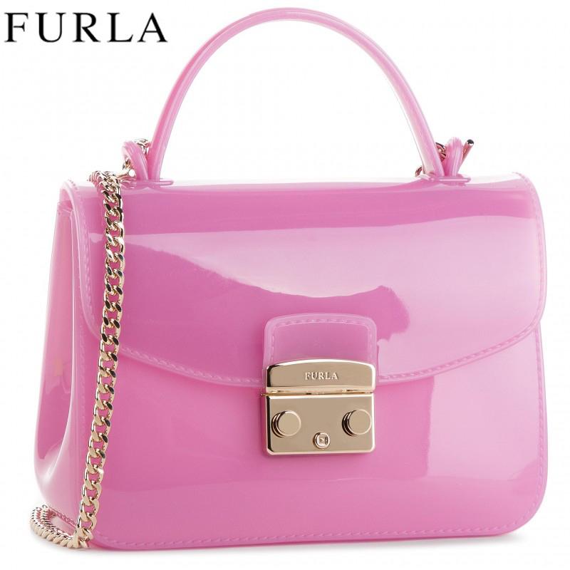 フルラ バッグ ショルダーバッグ クロスボディバッグ キャンディ FURLA Candy Crossbody Bag Pink