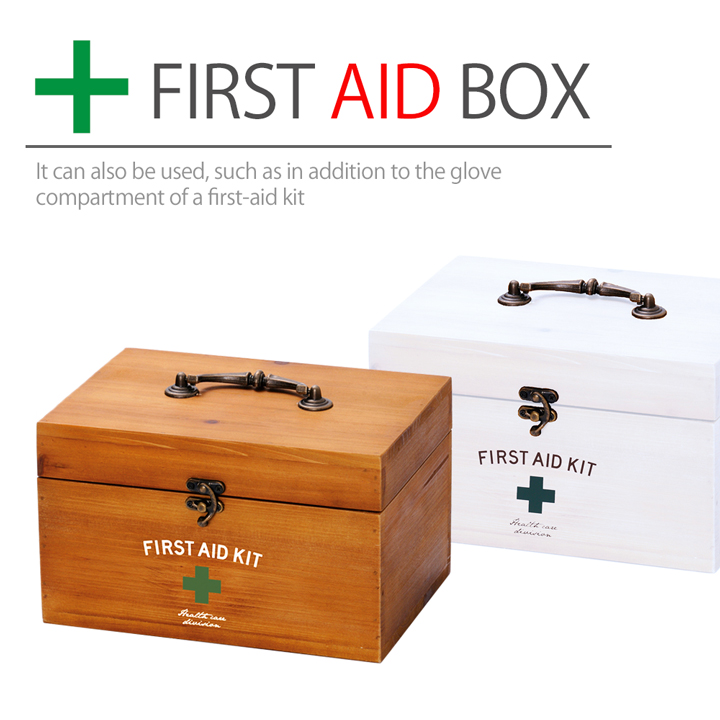 The Storing First Aid Kit With The Cover Which Is Pretty By First Aid Box  ...