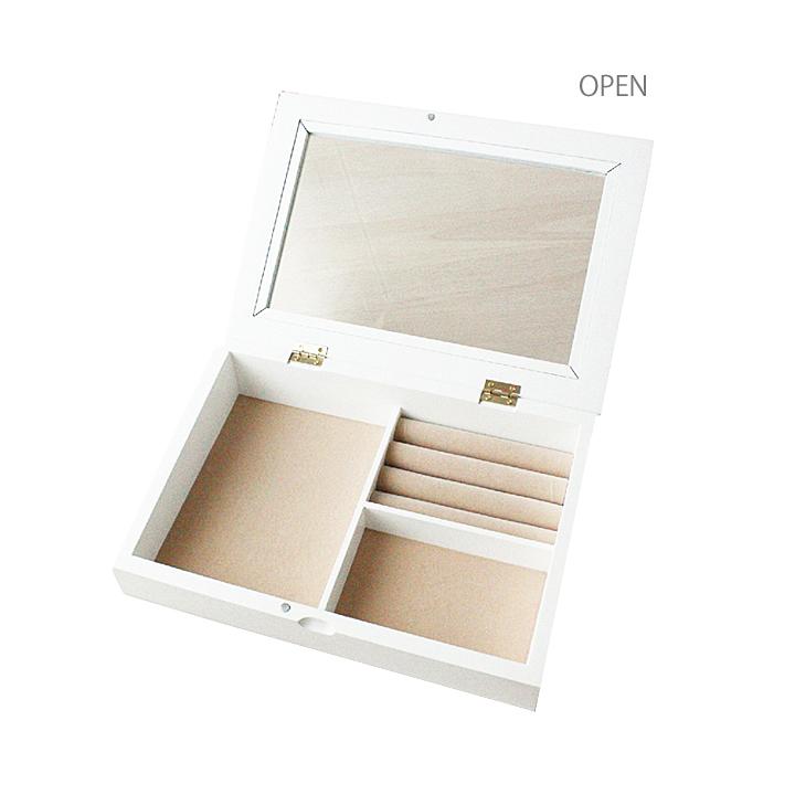 【送料無料】Nouvm(ノーム)  アクセサリーケースL・アンティーク調が人気なジュエリーボックス!リング収納付きで機能的なアクセサリーケース。誕生日ギフト,結婚祝いにおすすめ。ジュエリーケース/アクセサリー収納/宝石箱/ジュエリーケース/アクセサリーボックス|Moewe  global(メーヴェ)