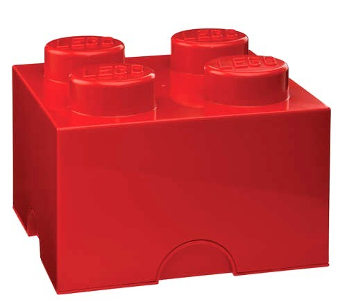 LEGO Storage Box (block Color Box) And Get Cute With A Lid Storage ...