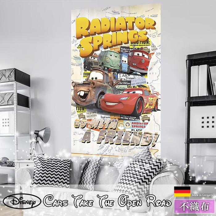 《即日出荷》 ドイツ製インポート壁紙 【VD-041】Cars Take The Open Road[輸入壁紙 デザイン おしゃれ 輸入 海外 外国 不織布 壁紙 クロス のりなし DIY リフォーム ディズニー カーズ cars ポップ 子供部屋 友安製作所]