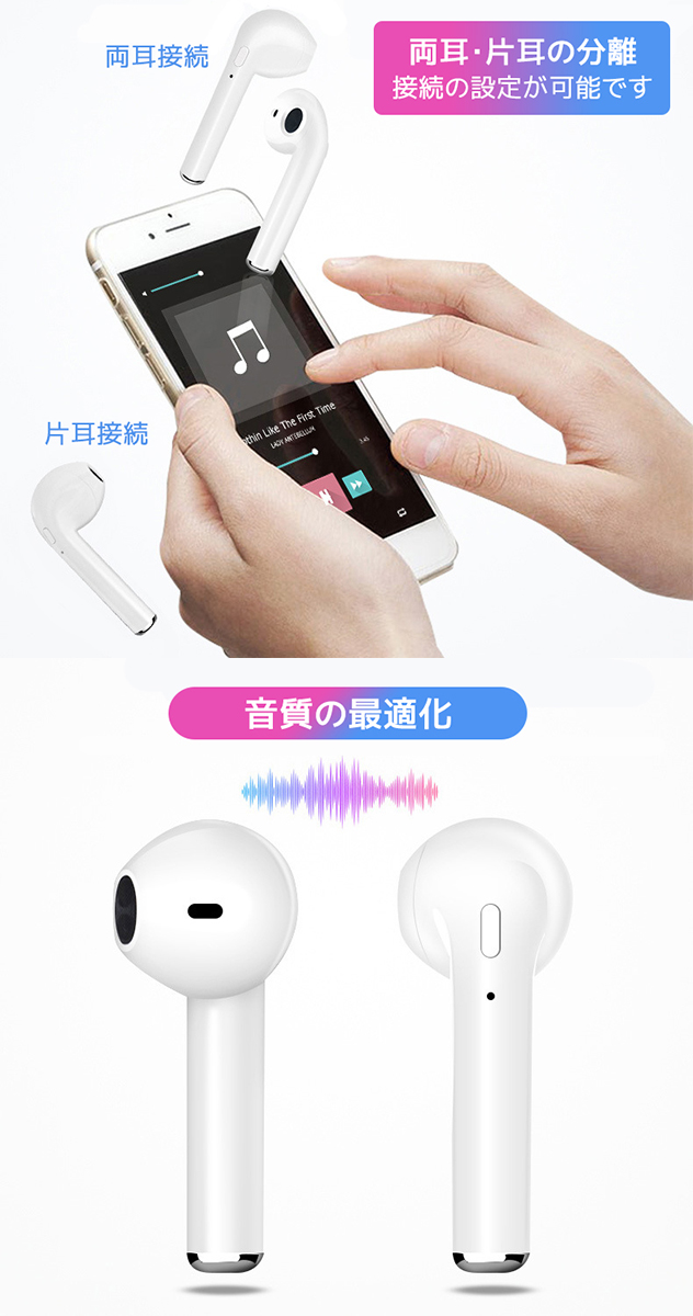 Simple pairing with the simple small pretty headset earphone music call  telephone cord reply incorporation microphone sports running high-quality