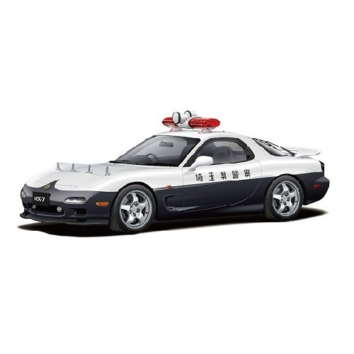 優先配送 新作販売 1 24 マツダ FD3S RX-7 '98 レーダーパトロールカー