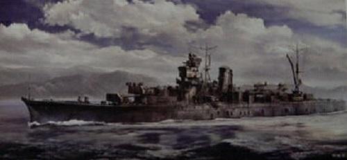 1/350 日本海軍 軽巡洋艦 酒匂