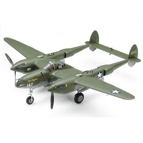 1/48 ロッキード P-38F/G ライトニング  タミヤ