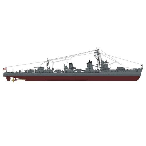 1/350 日本海軍 甲型駆逐艦 浜風 ミッドウェー海戦 スーパーディテール