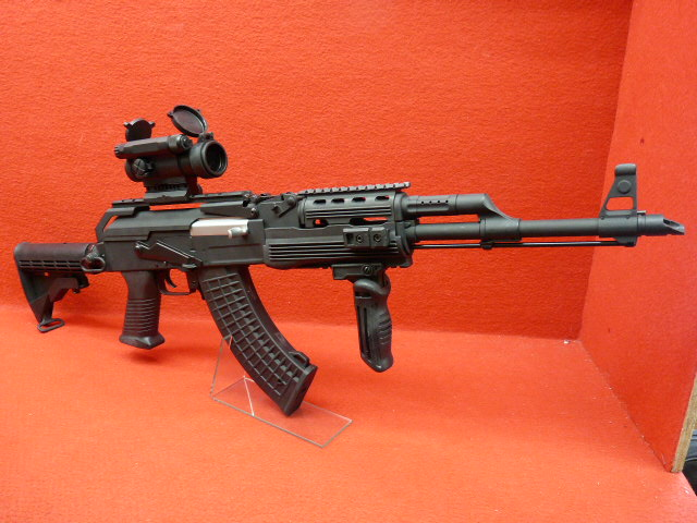 CYMA・AK47タクティカルRASカービン トップレール CM039C