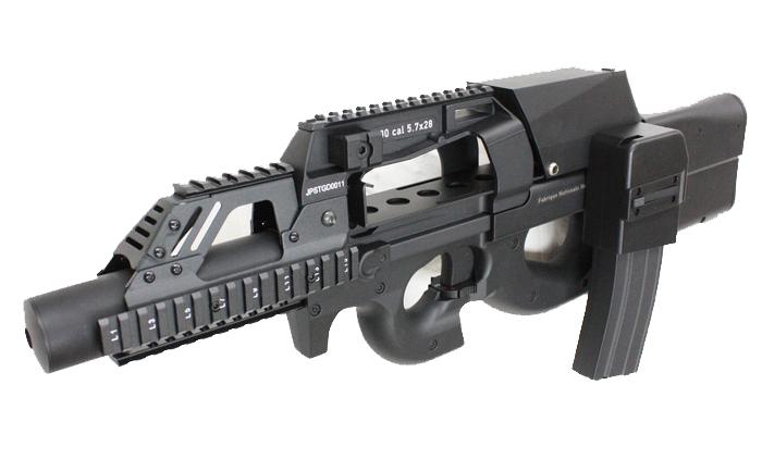 S&T電動ガン P90 Tactical RASハンドガード