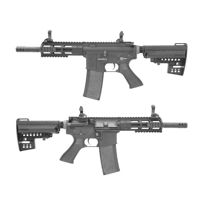 King Arms M4 TWS M-LOK CQB Ultra Grade II BK