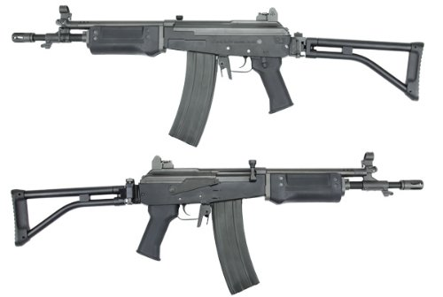 King Arms電動ガン GALIL SAR ブラック強化樹脂