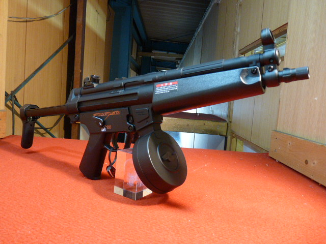 東京マルイ 電動ガン ハイサイクルカスタム H&K MP5A5 HC