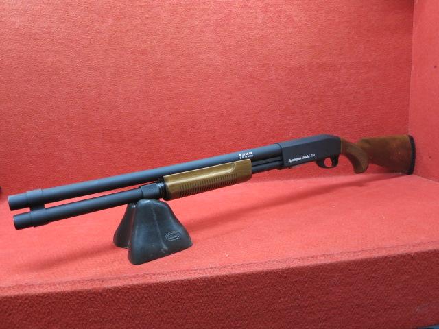 【エントリーでポイント10倍】S&T レミントンタイプ M870 ロング リアルウッド エアーポンプアクションショットガン