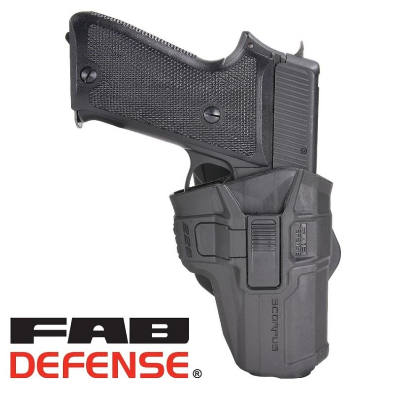 FAB DEFENSE  実物 SCORPUS RETENTIONホルスター P226用 レベル2ホルスター