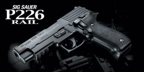 【エントリーでポイント10倍】東京マルイ シグ ザウエル P226レイル ガスブローバック