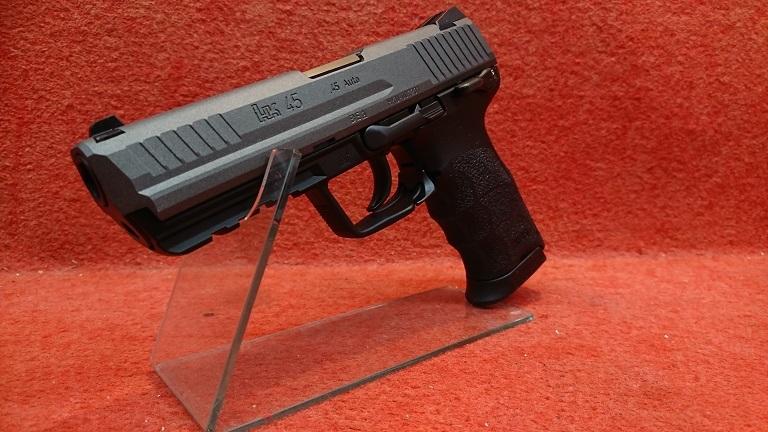 東京マルイ HK45 ガスブローバック セラコートタングステンVer