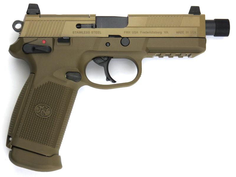 【エントリーでポイント10倍】サイバーガン ガスブローバック FNX-45 Tactical Pistol FDE